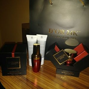 D' OR 24K THERMAL CAVIAR MASK, CREAM AND SERUM